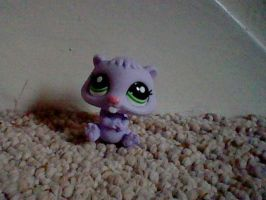 LPS Blind bag Purple Beaver by ButchxButtercup1996