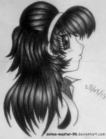 Hair Study from the Imagination (2) by anime-master-96