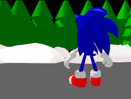 MMD Sonic just got lost by FoxlyTails