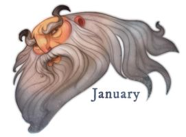 The Twelve Months- January by fabiolagarza