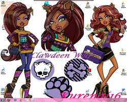 Clawdeen Wolf Schools Out by SakuraH18