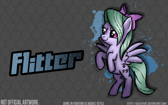 Fighting is Magic - Flitter *Commission by Galaxyart