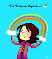 The Rainbow Explosion by HieiLovesCookies