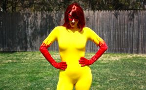 Marvel's Firestar by cosplaynut