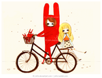 On a Bicycle Journey by j-b0x