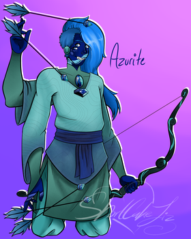 Azurite -Collab Fusion by BlueberrySweet