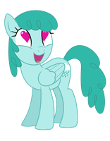Medley with heart-shaped eyes by bluemeganium