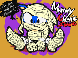 Mummy Classic Sonic by Tapozia
