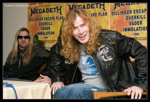 MEGADETH PRESS 5 by grablesky