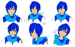 KAITO expressions by Dirata
