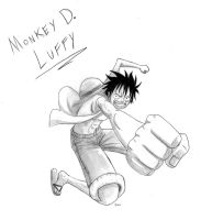 Luffy - One Piece by Gbtz007