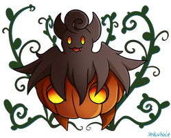 PUMPKABOO by Sanguynn