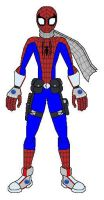 KH Gear Spiderman by AJ-Prime
