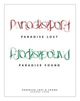 Paradise Lost-Found by unknowninspiration