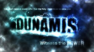 Dunamis- Acts 1:8 by SympleArts