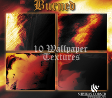 Burned Wallpaper Textures by spiritcoda