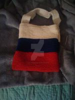 Russian Flag by KnittedWonders