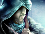ACR - Ezio - SPEED PAINTING by Xanthocephalus