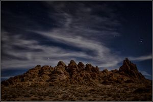 A Night in the Alabama Hills of California by ickylust