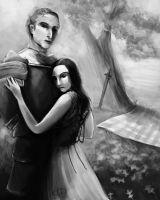 Knight and Lady by shadowgirl