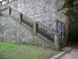 Stock: Castle Stairs by Ireth-stock