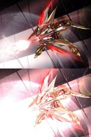 Gundam Sariel Archering by masarebelth