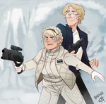 Don't touch my Nerf herder by Nanihoo