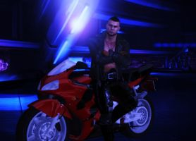Biker James by zulija