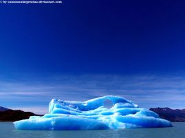 Iceberg from Upsala's Glacier 3 by Cansounofargentina