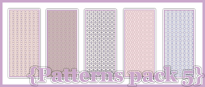 Patterns pack 005 by talieps1000