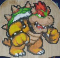 Bowser Perler Bead Sprite by TheSuperBoris
