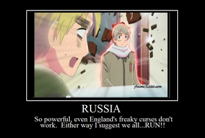 Hetalia Motivational Poster-Russia by bowdowntomeordie