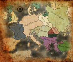 Renaissance Europe - 1600 by GTD-Orion