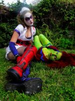 Harley and Ivy Arkham Asylum - Quiet by crazy5
