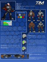 Tim: Reference Sheet by ThePsychoArtist