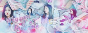 Cover Scrapbook #9 : Why you don't love me - SinB by Yu-Designer