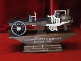 Cugnot's steam carriage by osmiumdragon