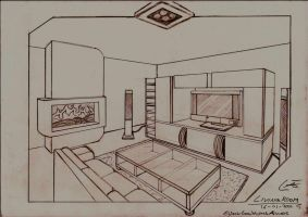 Living room by Eggy35