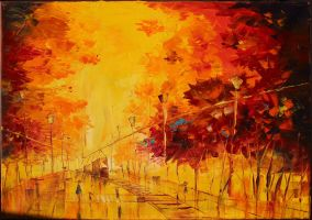 Autumn City by Loo1Cool