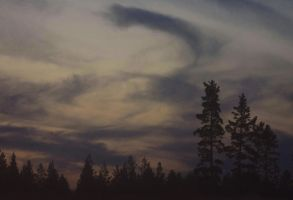 Heaven is painted with clouds. by Sparvoga