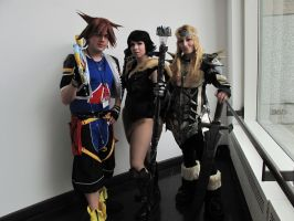 When Sora and Skyrim Collide by STARSMember930