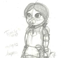 Emily Sketch by TheSpaceCowgirl