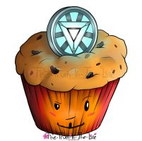Iron Man Muffin by Empty-Frames