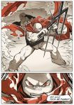 TMNT Dimension M Red and Black #6-3 by zibanitu6969