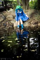 Nitori Kawashiro - Fallen Leaves by s4-ki