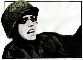Gerard Way at D-Day by EllyWithAWhy