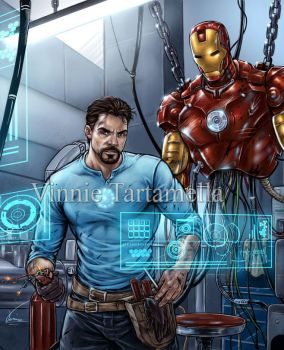 Iron man better view by VinRoc