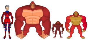 Red Ghost and Super Apes by Eye-of-Ra-X