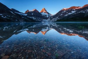 Canadian Rockies Reflection by porbital