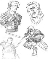 Sketch- Stormshadow by ChristopherStevens